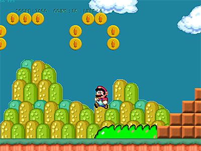 Mega Mario Freeware Game