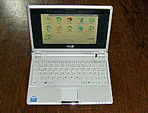 Eee PC Netbook von Asus