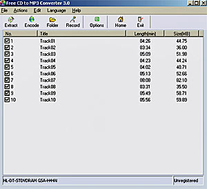 CD in MP3 umwandeln freeware Software