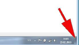 Desktop anzeigen bei Windows 7